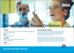20180832 Clinical Academic Trainees Conference poster